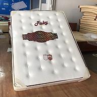 Nệm lò xo túi Ruby 2 viền vải gấm xốp 180x200x25cm thumbnail