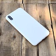 Ốp lưng dẻo trắng dành cho iPhone X iPhone XS thumbnail