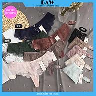 Quần Lót Nữ Lọt Khe Sexy Quyến Rũ Chất Ren Cao Cấp thương hiệu BAW mã QLN577 thumbnail
