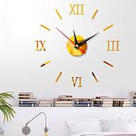 Đồng hồ 3D dán tường sáng tạo cao cấp DH50 thumbnail