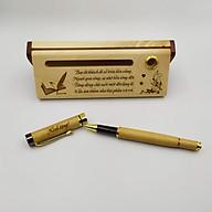 Bộ bút gỗ cao cấp tặng Thầy Cô - mẫu 01 (Kèm hộp đựng sang trọng) thumbnail