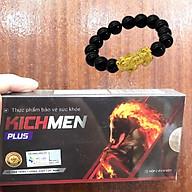 Viên Uống Kichmen Plus (Hộp 2 Vỉ ), Hỗ Trợ Tăng Cường Sinh Lý Nam, Tặng kèm Vòng tay Tỳ Hưu thumbnail