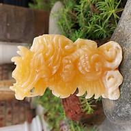 Tượng rồng đá tuổi Thìn phong thủy 12 con giáp đá ngọc hoàng long 10cm - đá Non Nước thumbnail