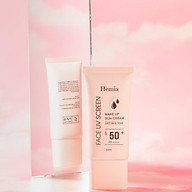 Kem chống nắng HEMIA dưỡng trắng nâng tone SPF50+ 100% tự nhiên, Thấm mướt nhanh, mịn màng nhập khẩu chính hãng Hàn Quốc thumbnail