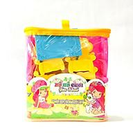 Bộ đồ chơi gia đình bàn ghế giường tủ giúp các bé phân biệt các loại đồ dùng trong gia đình thumbnail