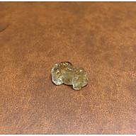 Tỳ hưu phong thủy đá Thạch Anh Tóc vàng Thiên nhiên 100% thumbnail