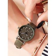Đồng hồ nữ DKO dây da mặt số Hàn Quốc thumbnail