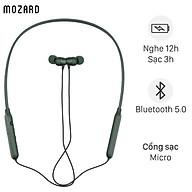 Tai nghe Bluetooth Mozard Z702 Xanh - Hàng Chính Hãng thumbnail