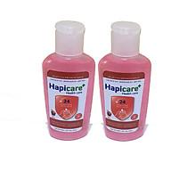 Combo 2 chai gel rửa tay khô Hapicare Táo 60ml thumbnail