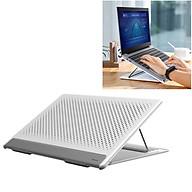 Đế máy tính xách tay với 5 nấc điều chỉnh, gập gọn và tản nhiệt Baseus - Hàng chính hãng thumbnail