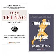 Bộ Sách Khám Phá bản Thân ( Luật Trí Não + Thoát Khỏi Bẫy Cảm Xúc ) (Tặng kèm Tickbook) thumbnail