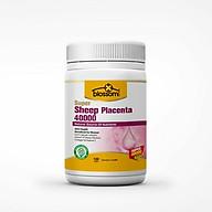 Viên Uống Đẹp Da Nhau Thai Cừu Thế Hệ Mới Blossom Super Sheep Placenta 40000 100V (Placenta-Collagen-Vitamin C) thumbnail