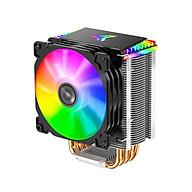 Jonsbo CR-1400 CPU Radiator Computer Tower CPU Cooler PWM 4Pin Fan 4 Heat Pipes 5V ARGB Tower CPU Cooling Fan thumbnail