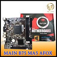 Main Máy Tính AFOX B75 Full Box Mainboard Linh kiện Điện Tử Cho Máy Tính PC hàng chính hãng thumbnail