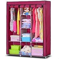 Tủ quần áo trơn 3 buồng 8 ngăn ( Giao màu ngẫu nhiên ) thumbnail