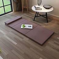 Nệm ngủ văn phòng gấp gọn, chất liệu nệm bông ép, độ dày 6cm - Giao màu ngẫu nhiên thumbnail