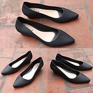 Giày búp bê giày công sở có khả năng chịu nước, chống trơn trượt size 36 đến 40 mẫu V158 chuẩn thumbnail