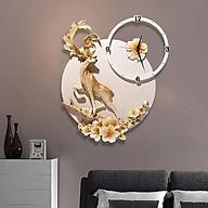 Đồng hồ Treo Tường Tuần Lộc Mai Vàng thumbnail