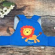 Đai đi xe máy an toàn cho bé sư tử xanh thumbnail
