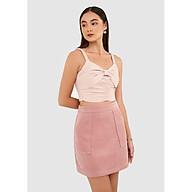 Váy mini đắp túi nhung - MARC FASHION thumbnail