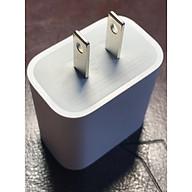 Adapter- Củ sạc 20W chân Dẹt PD3.0 dùng cho iphone 12 Pro Kèm cáp sạc màu ngẫu nhiên thumbnail