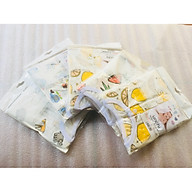 Combo 5 Bộ Quần Áo Trẻ Sơ Sinh Cao Cấp Sợi Cotton Fiber Bamboo Dành Cho Bé 9-12 Tháng Tuổi ( Màu Ngẫu Nhiên ) thumbnail