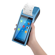 All in One Handheld PDA Printer Smart POS Terminal Wireless Portable Printers Intelligent Payment Terminal Function BT thumbnail