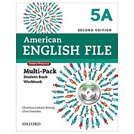American English File 5A Multi-Pack with Online Practice and iChecker thumbnail