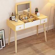 Bộ bàn ghế trang điểm cao cấp - Bàn trang điểm - Bàn trang điểm bằng gỗ thumbnail