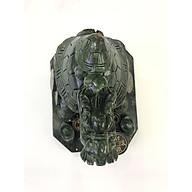 Long quy (Rùa rồng) đá Serpentine xanh - dài 24cm - nặng 5,5kg thumbnail