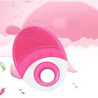 Dụng cụ rửa mặt chuyên sâu, rửa mụn, máy rửa mặt massage tẩy sạch lỗ chân lông ( giao màu ngẫu nhiên ) thumbnail
