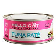 Pate Tươi Dành Cho Tất Cả Các Giống Mèo Ở Mọi Độ Tuổi Hương Vị Cá Ngừ Thơm Ngon Bắt Vị - Hello Cat Tuna Pate 190G thumbnail