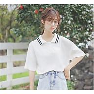 Áo Thun Nữ Tay Ngắn Chất Liệu Thun Da Cá Mềm Mịn Thấm Hút Mồ Hôi Thời Trang 4YOUNG Phong Cách Hàn Quốc ATN02 thumbnail