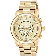 Michael Kors MK8077 Gold-Tone Men s Watch thumbnail