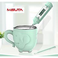 Nhiệt kế điện tử đa năng đo sữa, nước, thức ăn Misuta thumbnail