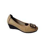 Giày búp bê nữ da bò thời trang cao cấp HKT19 thumbnail