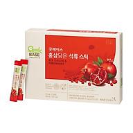 Nước Hồng sâm & Lựu đỏ Good BASE (10ml 30 gói) KGC Cheong Kwan Jang Hàn Quốc - Tốt cho tim mạch Làm đẹp da, tái tạo da hư tổn. thumbnail