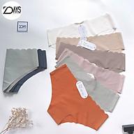 Combo 3 Quần Lót Nữ Vải Su Lượn Lưng Màu Vintage Cao Cấp Freesize, Quần lót su nữ sexy không đường may 7DAYS thumbnail