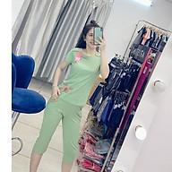 Bộ đồ mặc nhà ANNA, SET đồ cotton thấm hút mồ hôi, co giãn tốt - Kiểu dáng dễ mặc, tôn dáng thiết kế họa tiết trẻ trung thumbnail