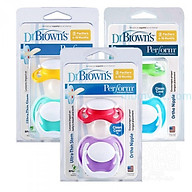 Set 02 ty ngậm Prevent Dr Brown s dành cho bé 6-18 tháng (nhiều màu) - 971 thumbnail
