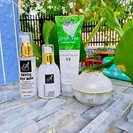 Bộ sản phẩm chăm sóc da mặt hoàn hảo Acosmetics (Sữa rửa mặt, Detox, Serum và Kem face Pháp) thumbnail