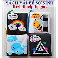 Combo sách vải - sách vải cho bé kích thích thị giác với nhiều chủ đề bằng tiếng anh giúp bé vừa học vừa chơi thumbnail