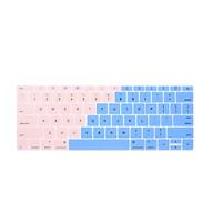 Miếng phủ bàn phím bằng silicon chống bụi, chống nước bảo vệ cho Macbook màu Ombre thumbnail