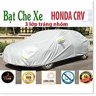 Bạt Phủ Ô Tô dành cho HONDA CRV CAO CẤP 3 LỚP Tráng Bạc Cách Nhiệt, Chống Nước, Chống Trộm Gương thumbnail
