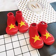 Giày tập đi cho bé cưng Yellow Star thumbnail
