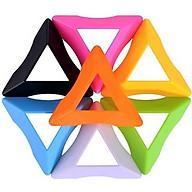 Đồ chơi ảo thuật Rubik tam giác Zongzi Cube, Rubik biến thể YJ8359 thumbnail