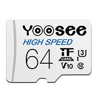 Thẻ nhớ microSDXC Yoosee 64GB tốc độ cao chuyên dụng cho camera, điện thoại - Hàng chính hãng thumbnail