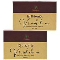 Combo 2 Hộp Túi Thảo Mộc Xông Vùng Kín Thơm Tho Cho Mẹ Bầu & Sau Sinh Wonmom (10 Túi Hộp) thumbnail