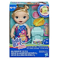 Đồ chơi búp bê mô hình BABY ALIVE Bé Sara trổ tài làm mì E3694 thumbnail
