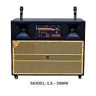 Loa Kéo Di Động Karaoke Bass Đôi 40 AAR - LX 3000W 4 Tấc Đôi - Màu Ngẫu Nhiên - Hàng Chính Hãng thumbnail